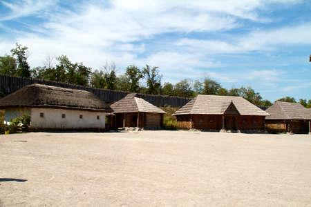 Ukrainian historical house in Hortitsa Stock Photo - 11400846