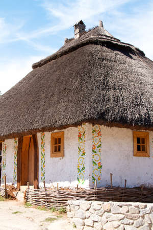 Ukrainian historical house in Hortitsa Stock Photo - 11389942