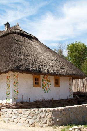 Ukrainian historical house in Hortitsa