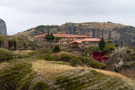 Meteora Monasteries, Greece photo