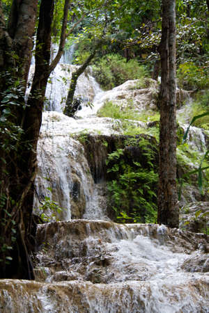 Erawan Waterfall, Kanchanaburi, Tha�lande photo
