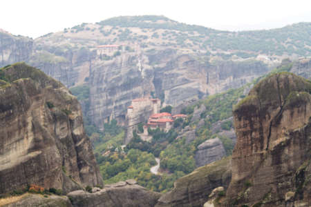 Meteora Monasteries, Greece Stock Photo - 11369655