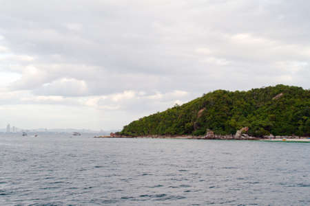 Beautiful blue sea from Similan islands in Thailand, Asia photo