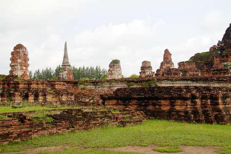 Pagoda at Wat Chaiwattanaram Temple, Ayutthaya, Thailand Stock Photo - 11344699