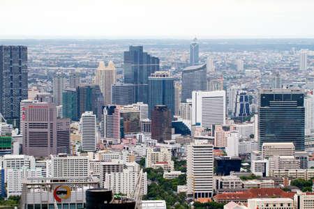 BANGKOK - SEPTEMBER 15 : Bangkok city view September 15, 2011 in Bangkok. City view from the skyscrapper