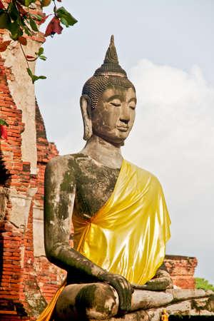 Buddha Statue - Ayuthaya, Thailand Stock Photo - 11893029