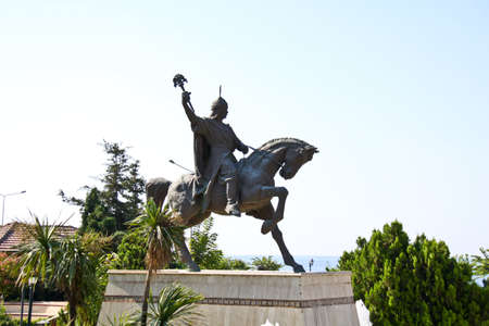 kadikoy: Statue of Ataturk Stock Photo