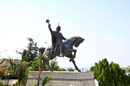 ataturk: Statue of Ataturk Stock Photo