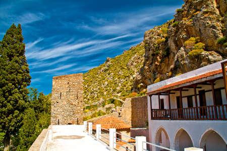 Greek tradition architecture photo