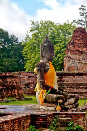 ayuthaya: Buddha Statue - Ayuthaya, Thailand