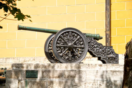 bombard: The ancient cannon in Moscow Kremlin