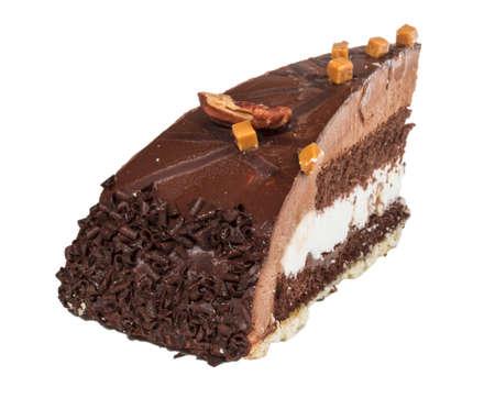 Piece of chocolate cake Stock Photo - 13666731