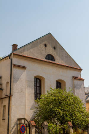 synagoge: Old Synagogue Izaaka in Kazimierz district of Krakow, Poland