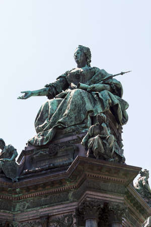 Maria Theresia Monument, in Vienna photo