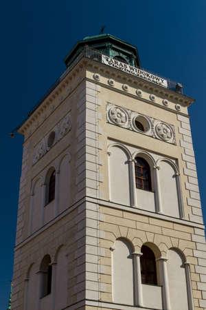 Castle Square in Warsaw, Poland Stock Photo - 13825056