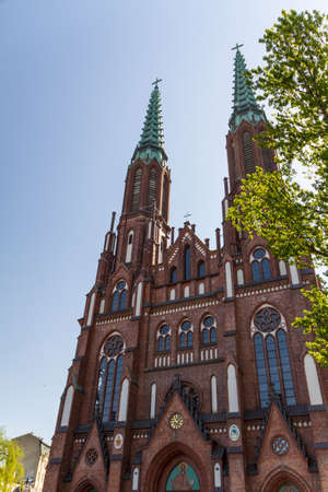 Saint Florian's Cathedral in Warsaw, Poland Stock Photo - 13817879