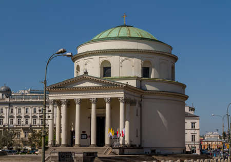 Saint Alexander church in Warsaw photo
