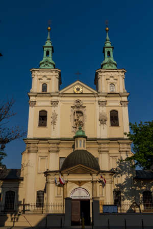 Old Church of Sts. Florian in Krakow. Poland Stock Photo - 13788119