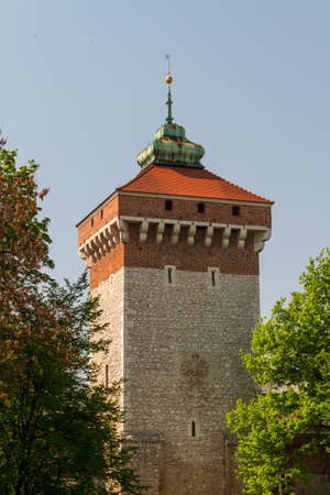 Florianska gate in Krakow photo