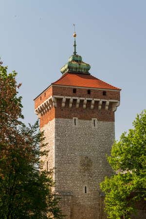 Florianska gate in Krakow photo