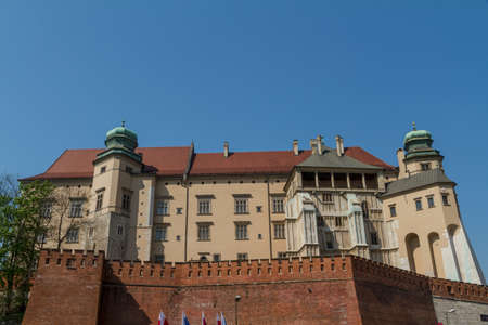Royal castle in Wawel, Krakow