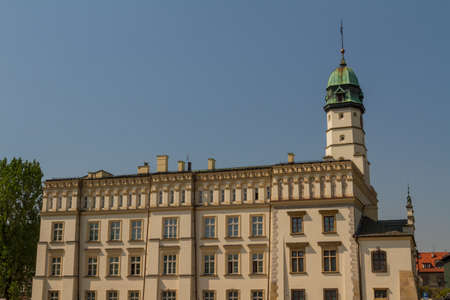 The 15th-century Town Hall amid Kazimierz's Plac Wolnica central square