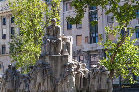 obuda: view of landmarks in Budapest Stock Photo