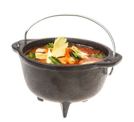 italian tomato soup photo