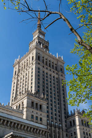 Palace of Culture and Science, Warsaw, Poland Stock Photo - 14141184
