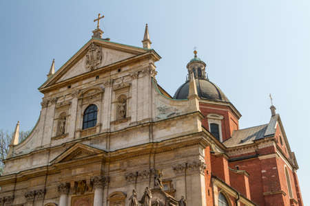 Church of Saints Peter and Paul in the Old Town district of Krakow, Poland