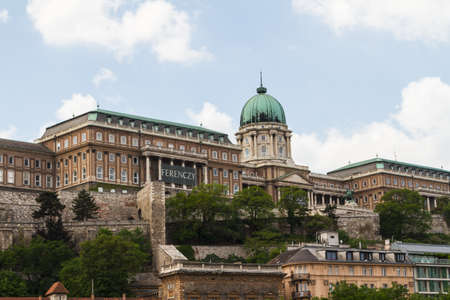 historic Royal Palace in Budapest