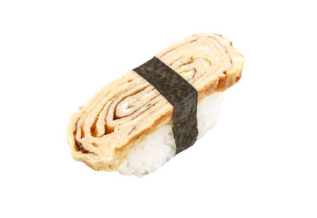 Tamago (Omelet) sushi Stock Photo - 14056477