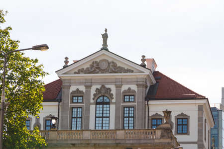 Museum of Frederick Chopin. Baroque palace in Warsaw.. Famous Dutch architect Tylman van Gameren. Stock Photo - 14144052