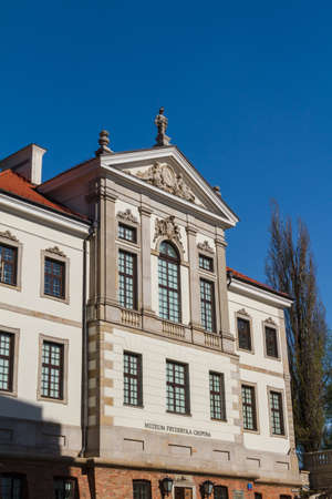 chopin heritage: Museum of Frederick Chopin. Baroque palace in Warsaw.. Famous Dutch architect Tylman van Gameren.