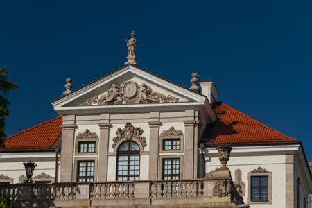 Museum of Frederick Chopin. Baroque palace in Warsaw.. Famous Dutch architect Tylman van Gameren. Stock Photo - 14144051
