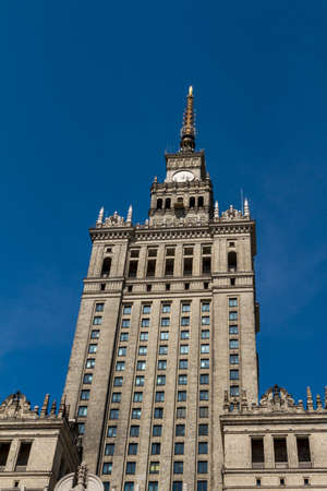 Palace of Culture and Science, Warsaw, Poland Stock Photo - 14144050