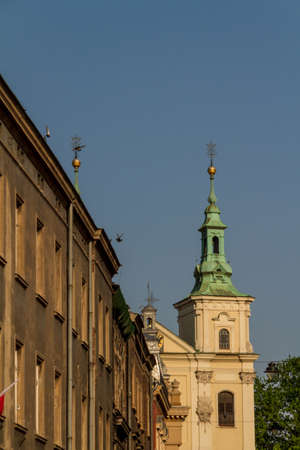 Old Church of Sts. Florian in Krakow. Poland photo