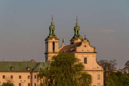 historic building in Krakow. Poland