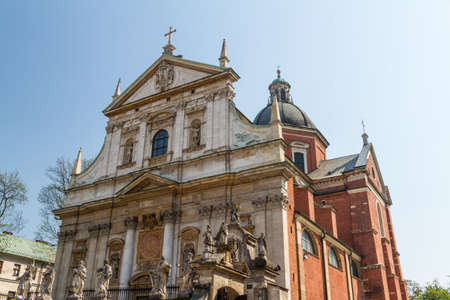 Church of Saints Peter and Paul in the Old Town district of Krakow, Poland photo