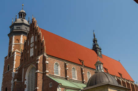 kroke: Cracow - Corpus Christi Church was founded by Kasimirus III The Great about 1340.