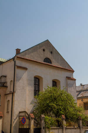 Old Synagogue Izaaka in Kazimierz district of Krakow, Poland