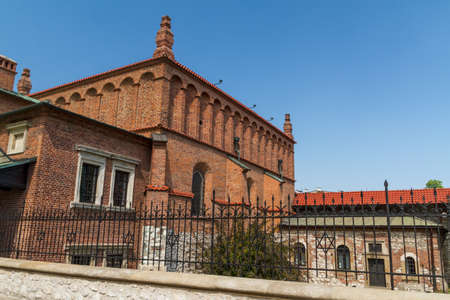 Old Synagogue in historic Jewish Kazimierz district of Cracow, Poland