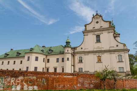 Cathedral in old town of Cracow Stock Photo - 14069095
