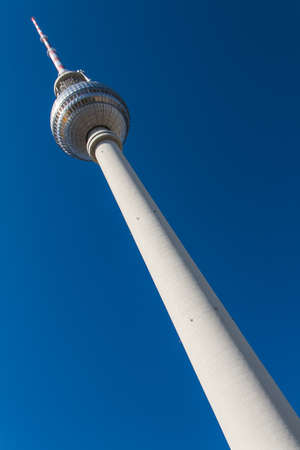 television tower in berlin mitte Stock Photo - 14198691