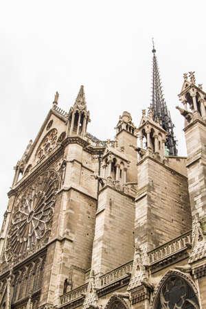 notre dame: Notre Dame (Paris) Stock Photo