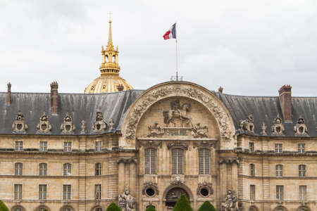 Les Invalides complejo, Par�s. photo