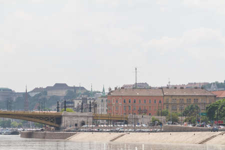 buda: b�timents typiques du 19e si�cle dans le ch�teau de Buda arrondissement de Budapest Banque d'images