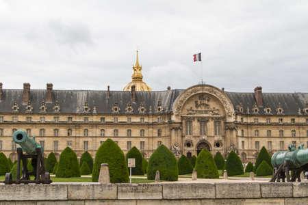 invalides: Les Invalides complex, Paris  Stock Photo