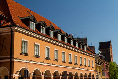 City center of Warsaw, Poland photo