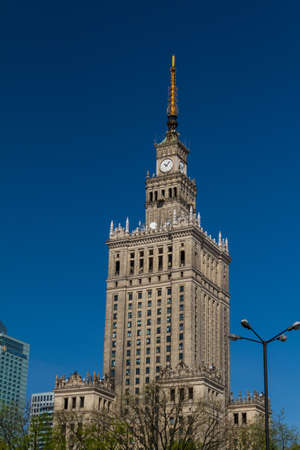 Palace of Culture and Science, Warsaw, Poland Stock Photo - 14359793